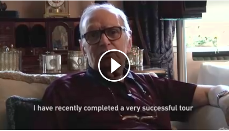 Ennio video message